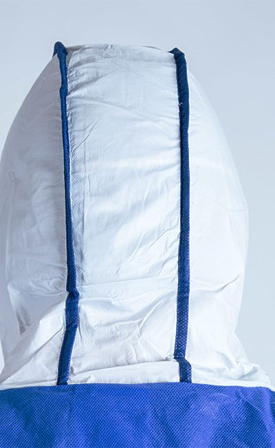 Hood 3 pans WeeBack Coverall allows much greater freedom of movement