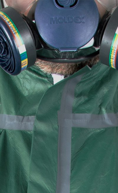 Self-adhesive zip flap WeePro Max Green for increased protection
