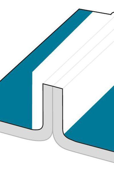 Couture Bordée : Couture recouverte d'une bande en polypropylène multi-couches pour une résistance mécanique absolue. Etanchéité optimale contre les aérosols et les particules de poussières fines.