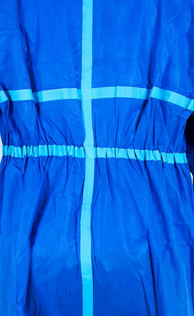 Elasticated waistband WeeCover Max 1 Blue Coverall for a perfect fit