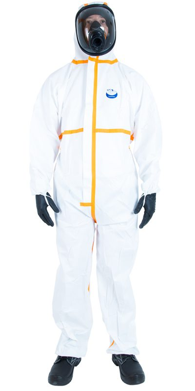 WeePro Max Plus Combinaison protection Type 4, 5 et 6 peinture industrielle Disposable Protective coverall Type 4, 5 and 6