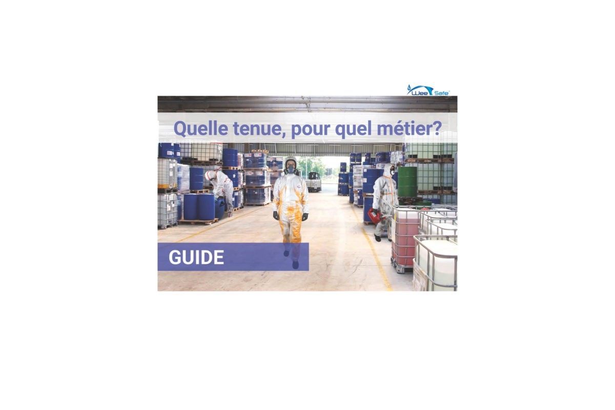 Guide métiers : combinaison de protection chimique