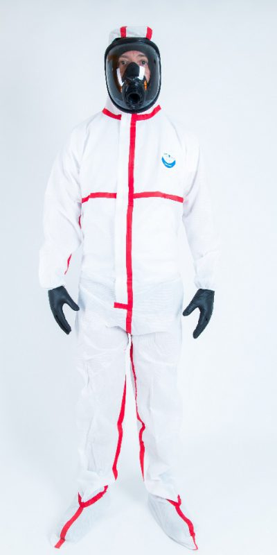 TYPE 5/6 WEECOVER MAX 1 INTEGRAL COVERALL