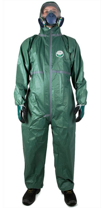 TYPE 4/5/6 WEEPRO MAX GREEN  COVERALL