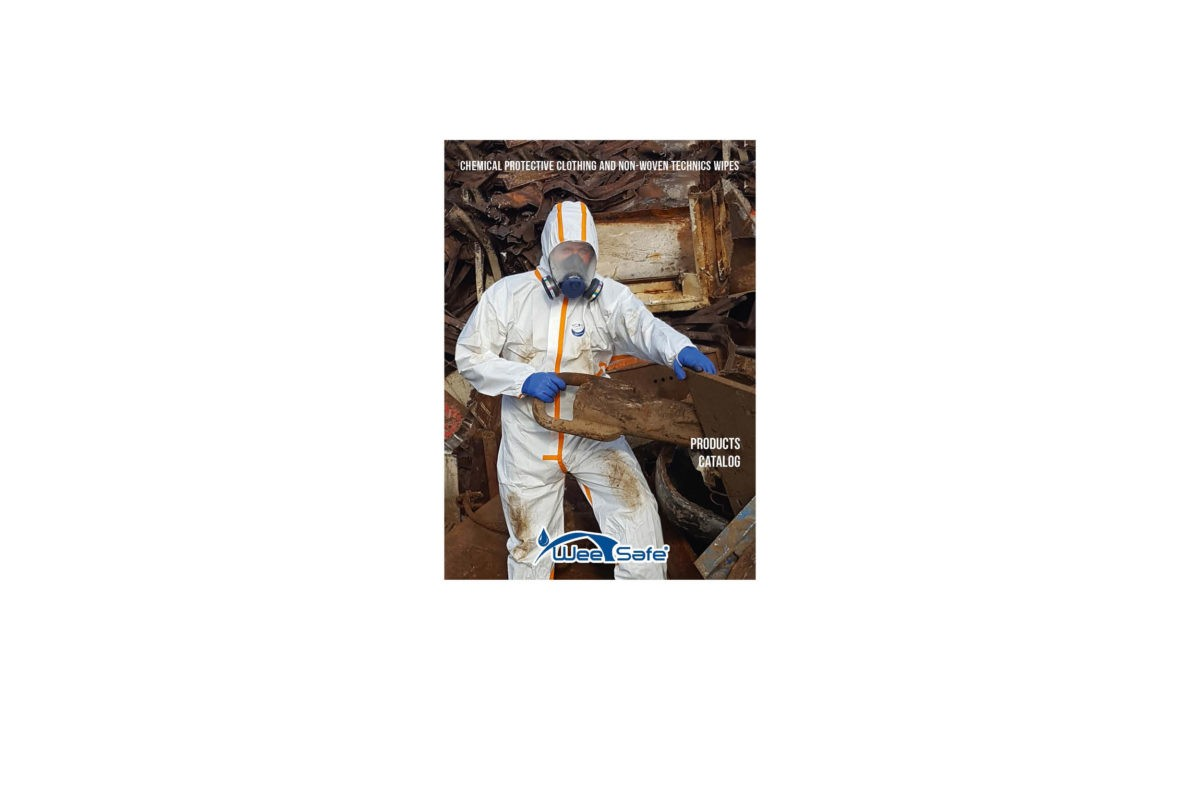 New protective coverall Weesafe catalog 2017