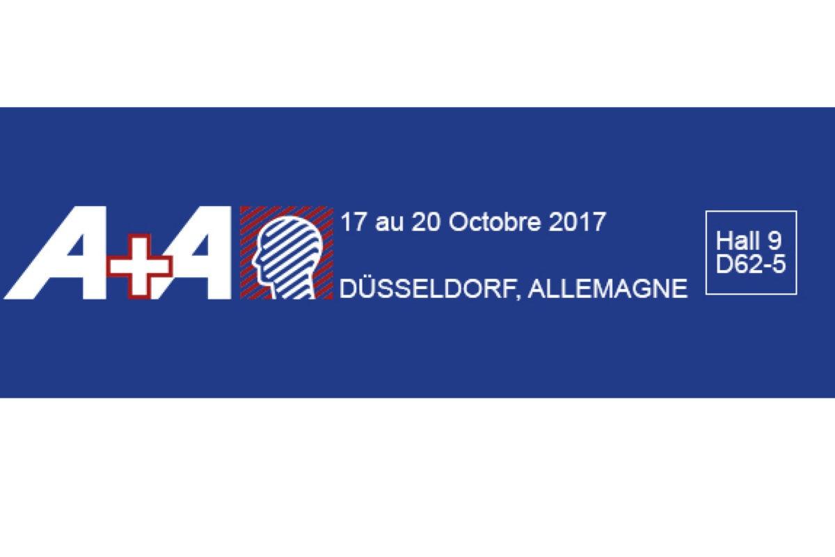 Salon International A+A 17 au 20 Octobre 2017 à DÜSSELDORF, ALLEMAGNE