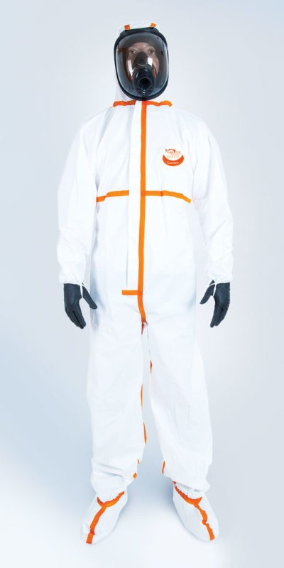 TYPE 4/5/6 WEEPRO MAX INTEGRAL COVERALL
