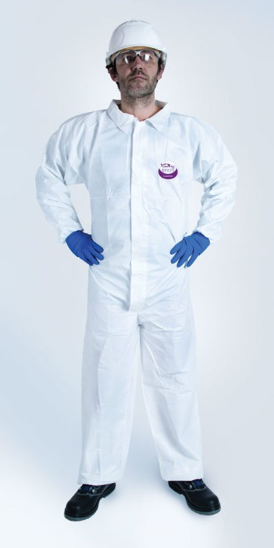 TYPE 5/6 WEEPRO COLLAR COVERALL