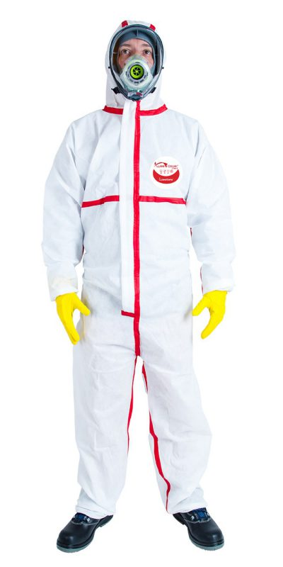 Image Combinaison/Coverall WeeCover MAX 1-GAMME/RANGE SMS