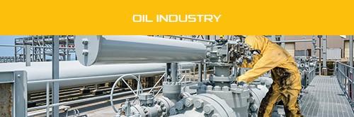 Flyer Profession Sheet - Oil Industry