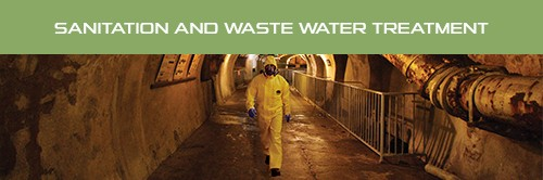 Flyer Profession Sheet -Sanitation and treatment of wastewater