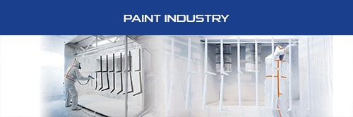 Flyer Professionnal Sheet - Paint industry