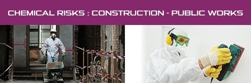 Profession Sheet : Chemical risks : Construction - public works