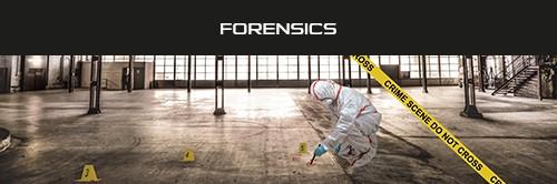 Flyer Profession Sheet - Forensics